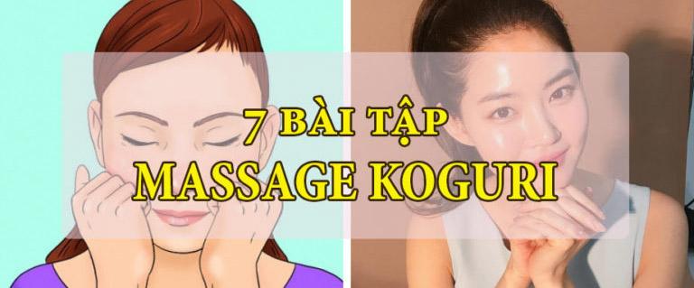 7 bài tập massage Korugi nổi tiếng của Nhật Bản giúp bạn trông trẻ hơn 7 tuổi